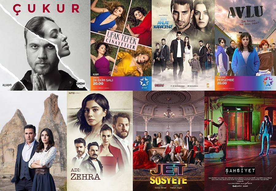 Popüler olan ve Çok İzlenen 20 Türk Dizisi 1