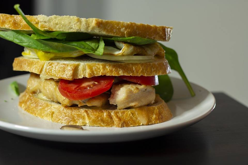 Nefis Tavuklu Açık Sandviç Tarifi! Nefis Tarifler 1