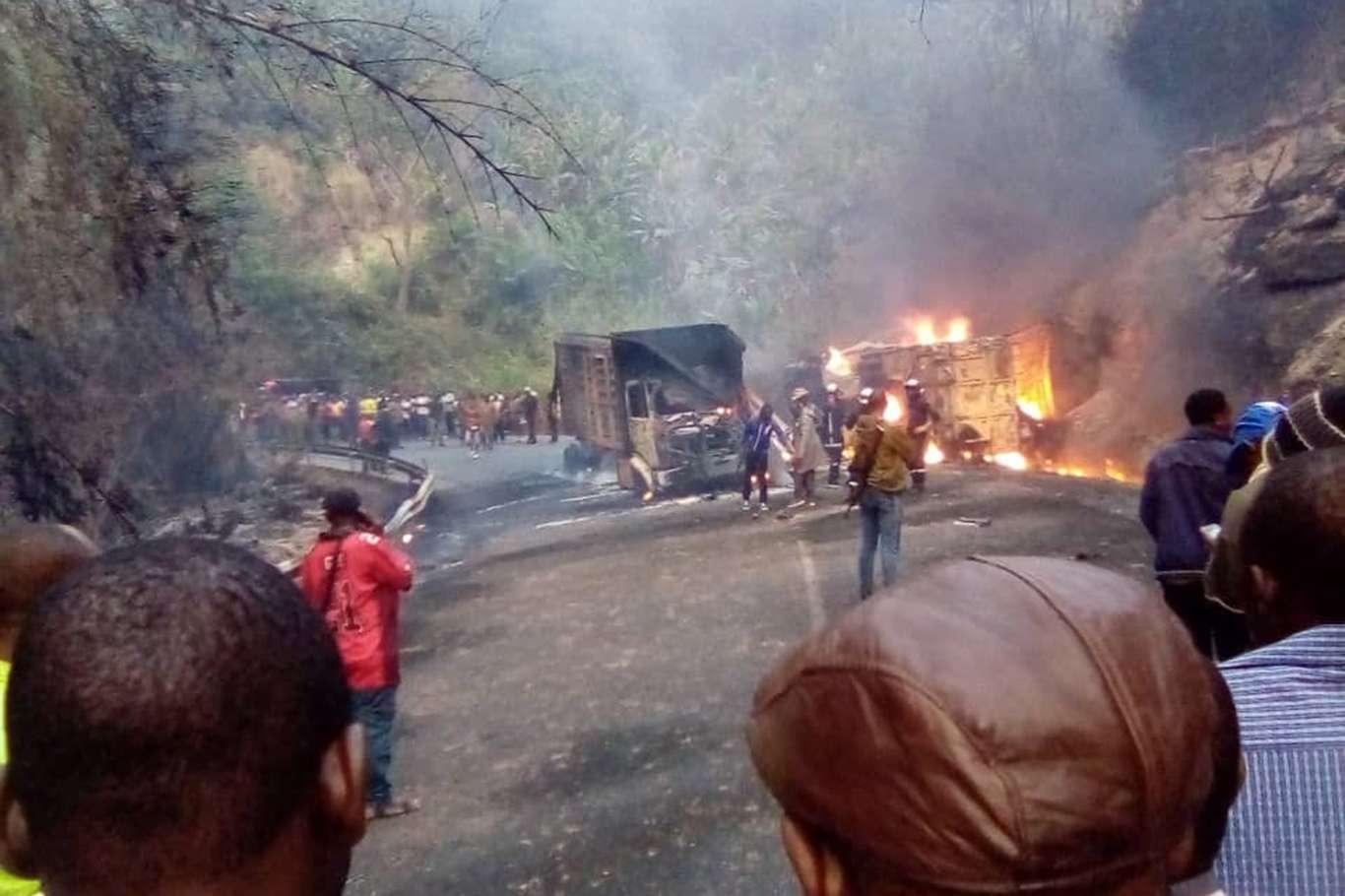 Kamerun'da Dehşet Veren Kaza: 53 Ölü