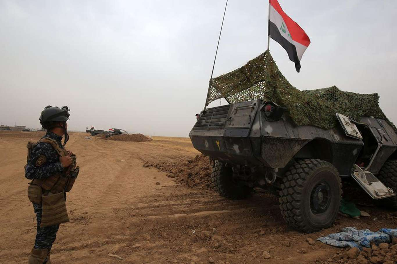 Irak'ta Üst Düzey Teröristlerinde Olduğu 9 Daiş Mensubu Öldürüldü