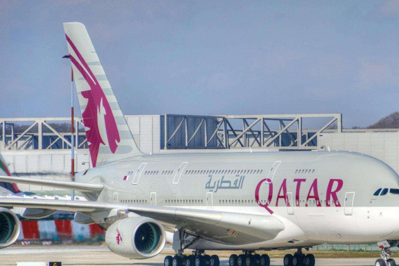 Katar'dan Bae'ye Ertelenen Uçak Seferleri Tekrardan Başladı