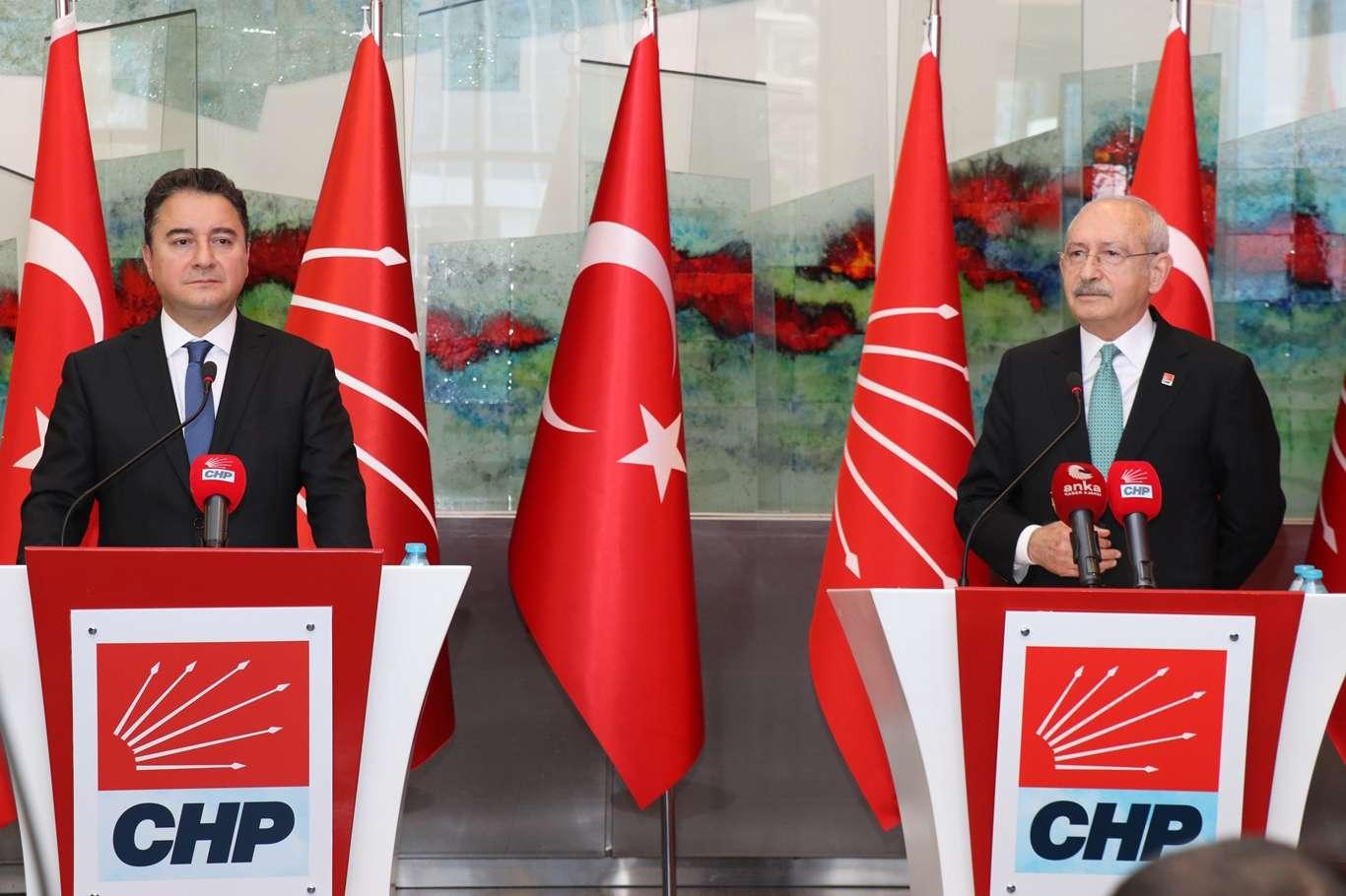 Babacan, Chp Genel Başkanı Kılıçdaroğlu'nu Ziyaret Etti