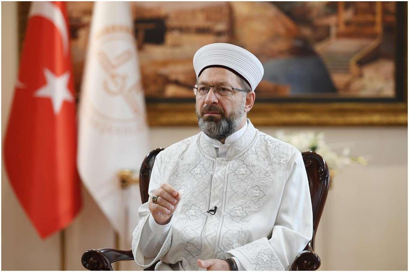 """Diyanet İşleri Başkanı Erbaş'ın """"kabe"""" Üzerinden Yapılan Provokasyona Tepkisi Gecikmedi"""