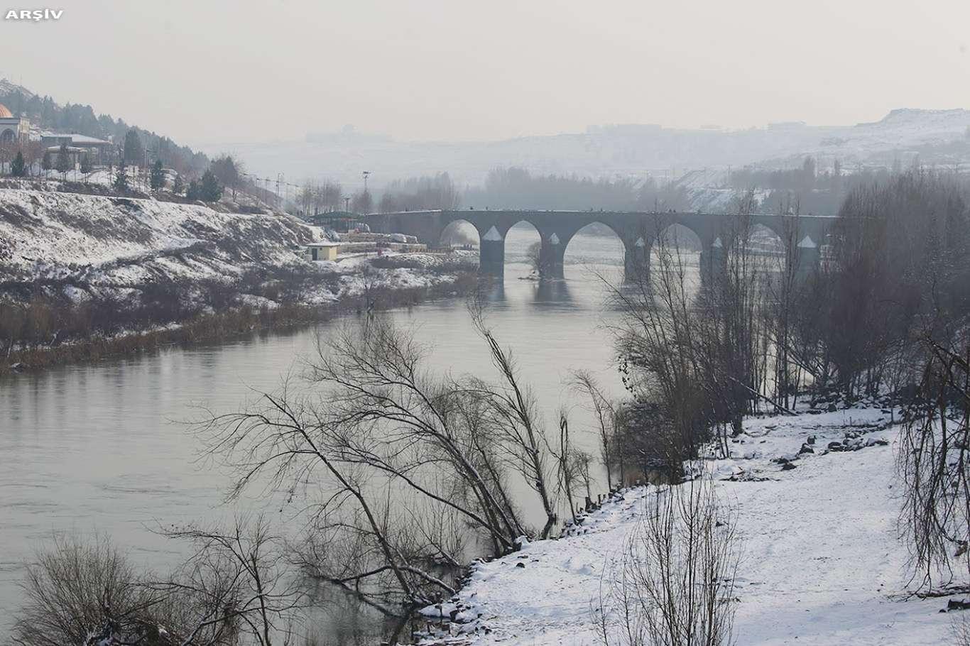 Meteorolojiden Diyarbakır İçin Yoğun Kar Uyarısı Yapıldı