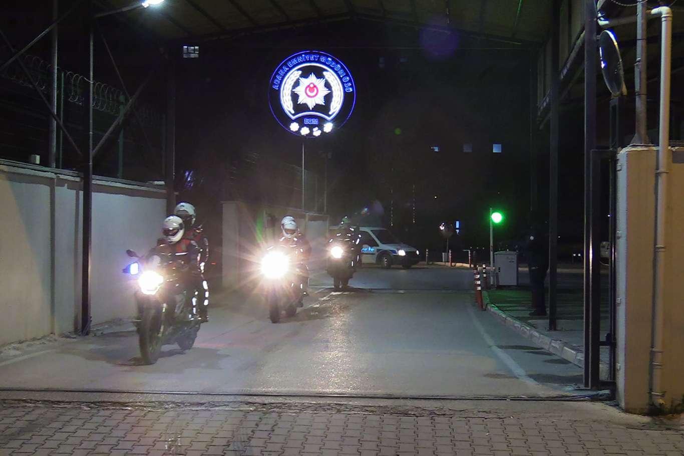 Son Dakika; Adana'da 90 Firarinin Yakalanması İçin Şafak Operasyonu Başlatıldı