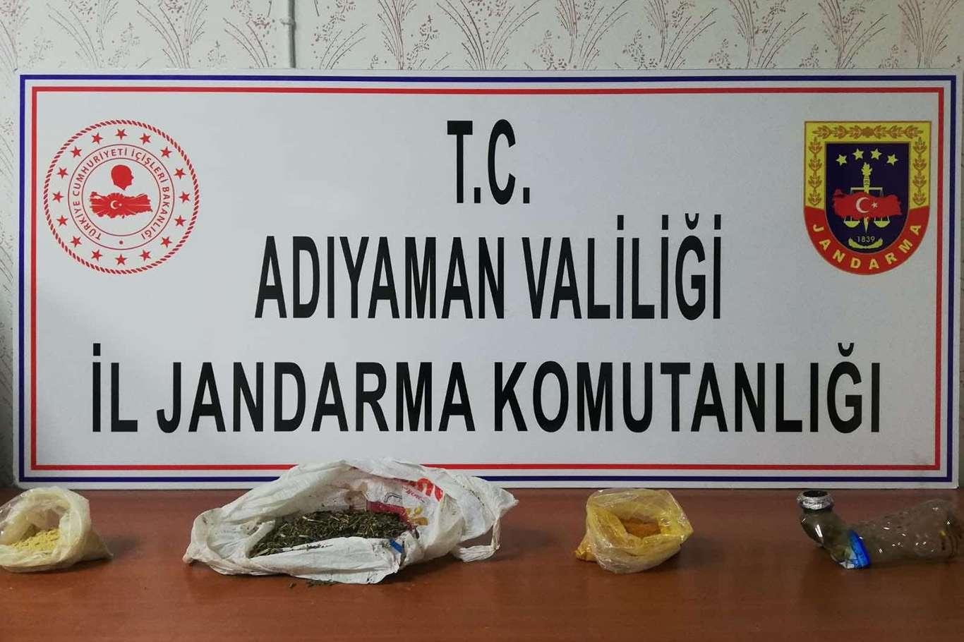 Adıyaman'da Uyuşturucu Ticaretinden 3 Kişi Yakalandı