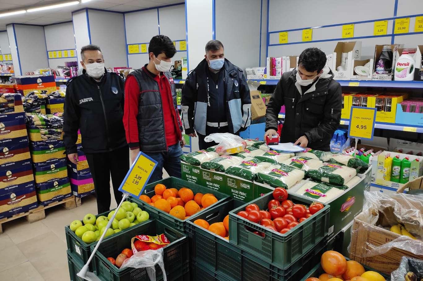 Siirt'te Haksız Fiyat Artışına Karşı Büyük Marketlerde Denetleme Başlatıldı