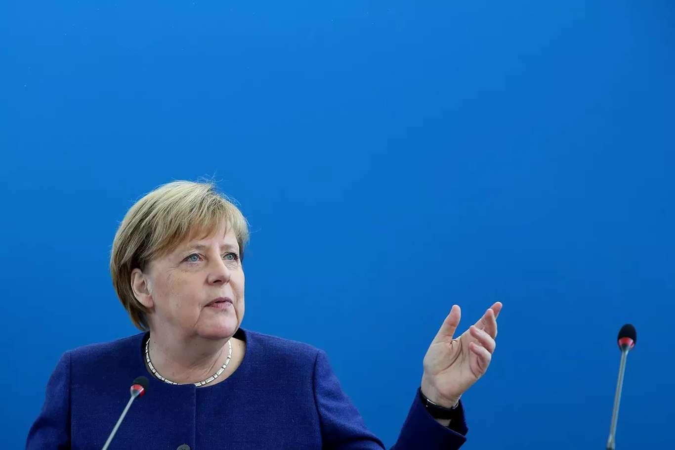 """Almanya Başbakanı Merkel: """"doğu Akdeniz'deki Gelişmeler Memnuniyet Verici"""""""