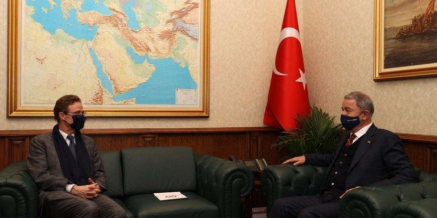 Bakan Akar Ab Türkiye Delegasyonu Başkanı Landrut'u Kabul Etti