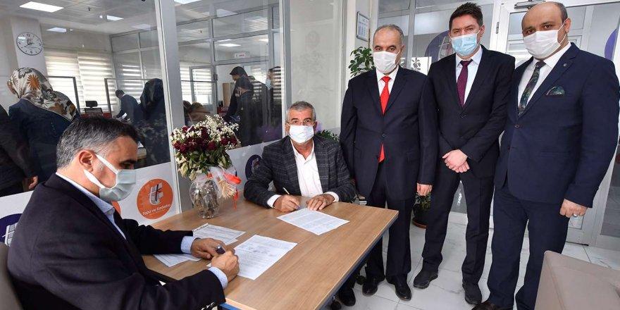 Karacadağ Organize Sanayi Bölgesi İçin Parsel Tapuları Verildi