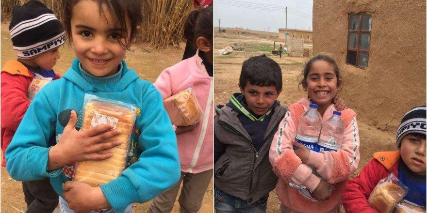 Barış Pınarı Bölgesindeki Çocuklar Sevindirildi