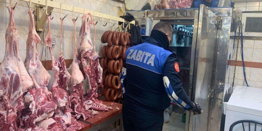 Gaziantep'te Kasap Ve Et Marketleri Denetlendi