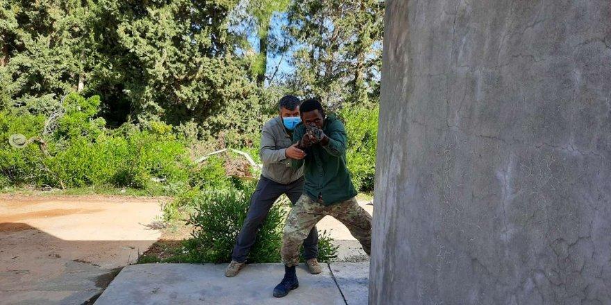 Libyalı Askerlere Eğitim Verilmeye Devam Ediliyor