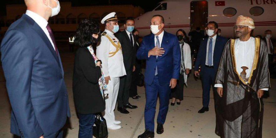 Dışişleri Bakanı Mevlüt Çavuşoğlu'nun Körfez Ülkelerindeki Temasları Devam Ediyor