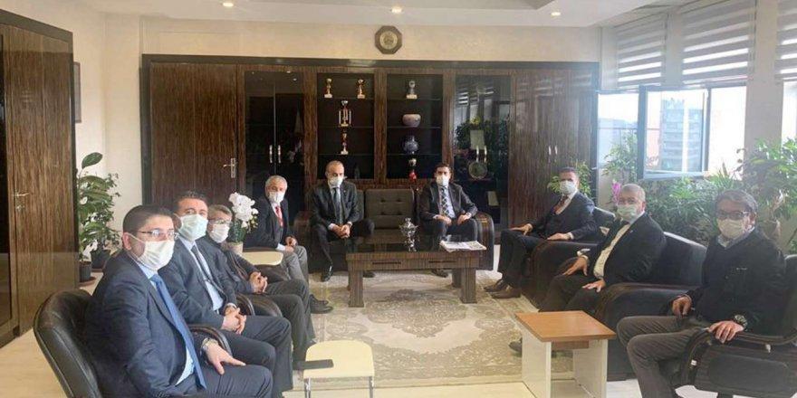 Gaziantep Gazeteciler Cemiyeti'nden Cumhuriyet Başsavcısı Düzgün'e Ziyaret