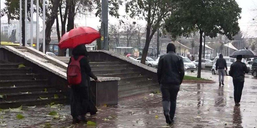 Meteorolojiden 5 İl İçin Yağış Uyarısı