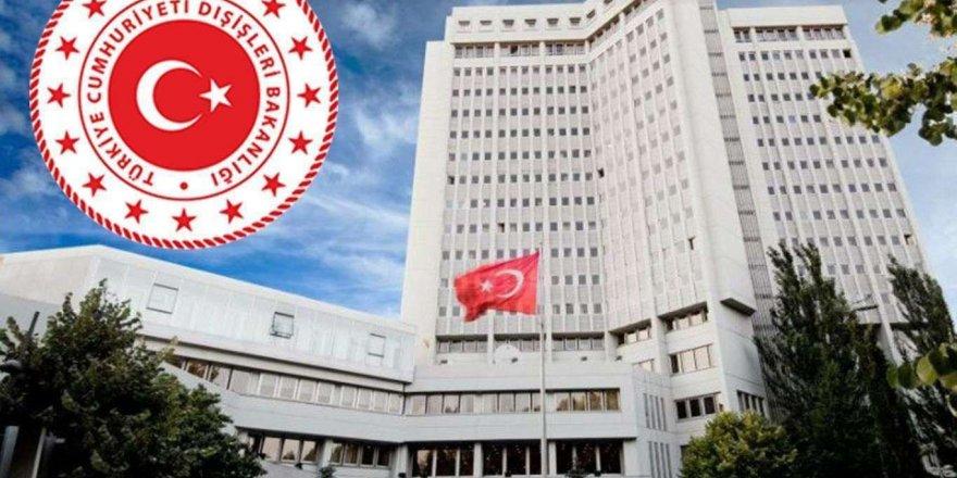 Dışişleri Bakanlığından Abd'ye Yanıt: Yargı Sürecine Saygı Duyun