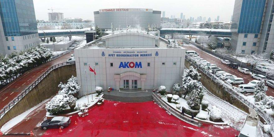 Akom'dan İstanbul İçin Kar Yağışı Uyarısı