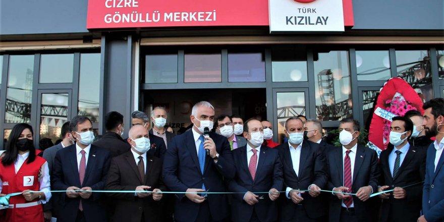 Cizre'de Kızılay Gönüllü Merkezi Hizmete Açıldı