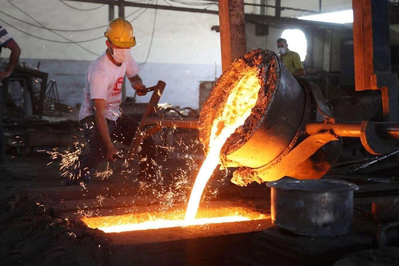 Sanayi Üretiminde sevindiren yükseliş! Yıllık Yüzde 9 Artış Gösterdi