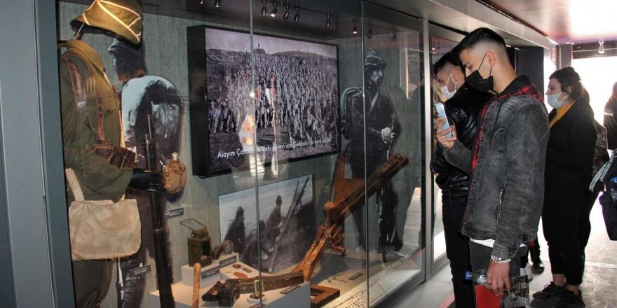 Çanakkale Savaşları Mobil Müzesi Şırnak'a Geldi