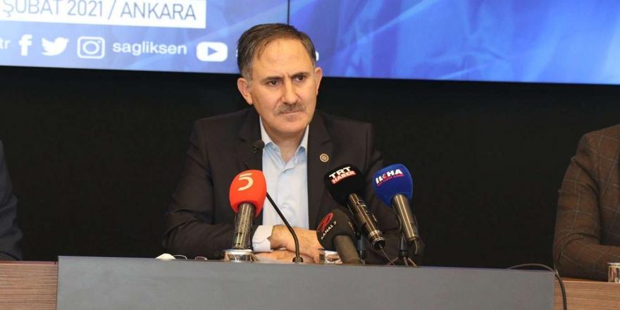 """Sağlık-sen Ocak Ayı """"türkiye Sağlık Çalışanları Raporu""""nu Açıkladı"""