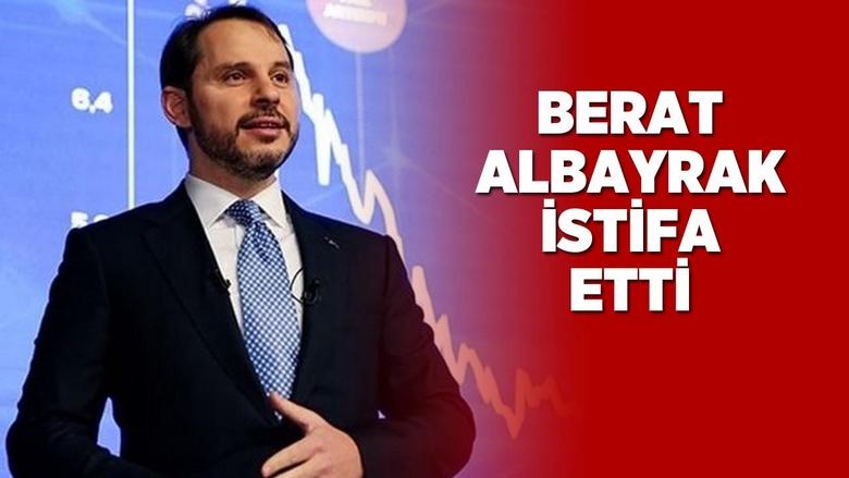 Hazine ve Maliye Bakanı Berat Albayrak'tan İstifa Paylaşımı