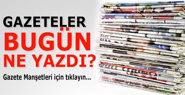 21 Aralık Pazartesi Gazete Manşetleri - Gazete Oku