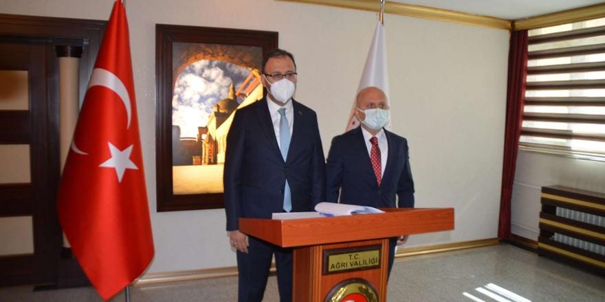 Gençlik Ve Spor Bakanı Kasapoğlu Ağrı'da