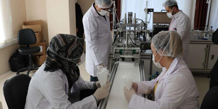 Gaziantep'te Maske Üretim Tesisleri Artıyor