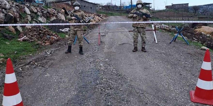 Çınar'da Bir Mahalle Karantinaya Alındı