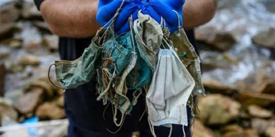 Maskeler Çevre Kirliliğinde Plastik Atıkları Geride Bıraktı
