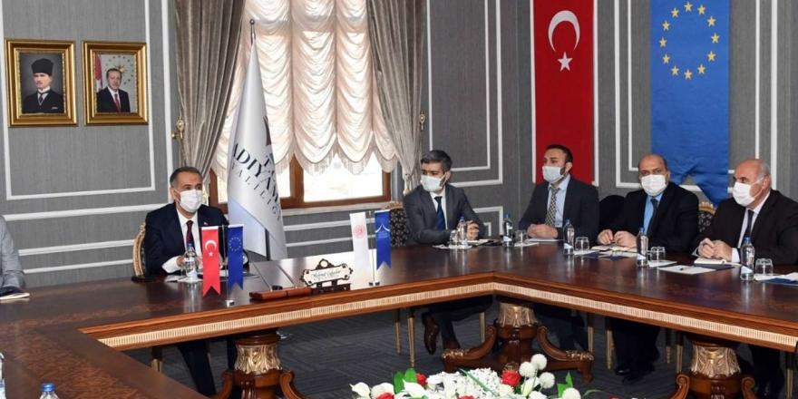 Adıyaman'da Turizm Sektörünün Canlandırılması Projesi'nin Açılış Toplantısı Yapıldı