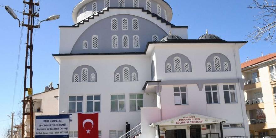 Adıyaman'da Yapımı Tamamlanan Haci Gani Diler Camii Dualarla İbadete Açıldı