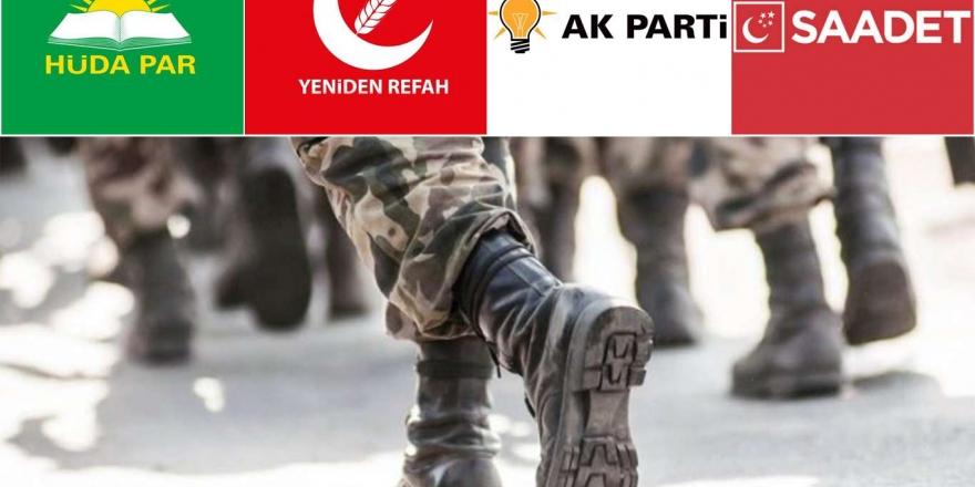  Siyasi Parti Temsilcileri: 28 Şubat Planlanan Bir Projeydi
