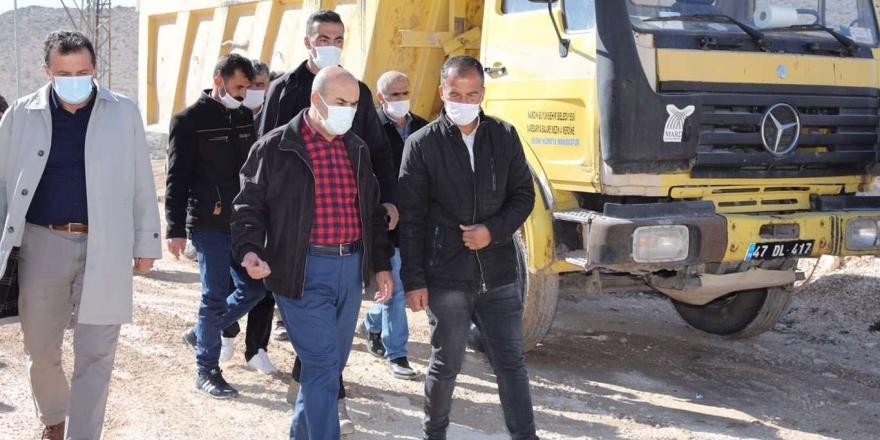Mardin Valisi Demirtaş'ın Hafta Sonu Ziyaretleri Sürüyor