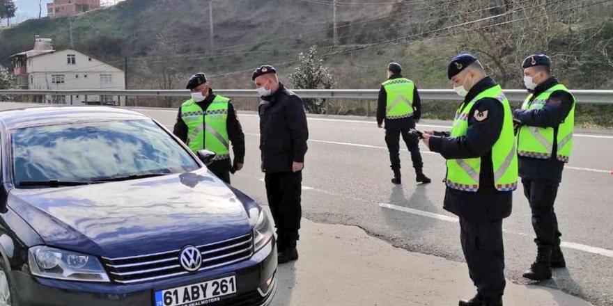 Trabzon'da Covid-19 Denetimleri Sürüyor