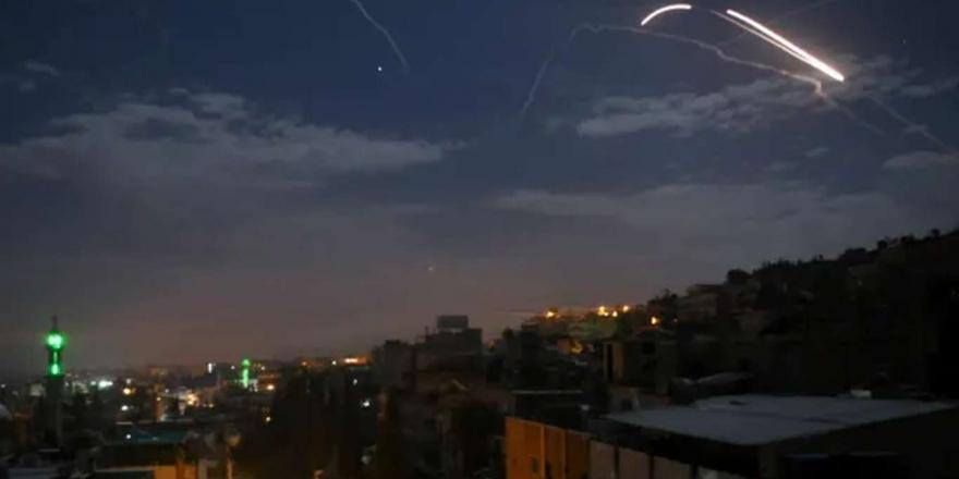 Siyonist İşgal Rejiminden Şam'a Hava Saldırısı