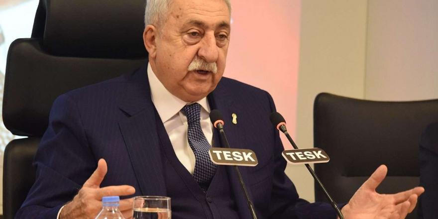 """Tesk Başkanı Palandöken'den """"zincir Market"""" Açıklaması"""