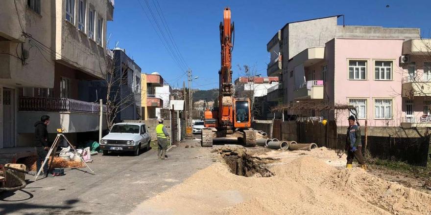 Adıyaman'da Bazı Mahallelerde Alt Yapı Yenileniyor