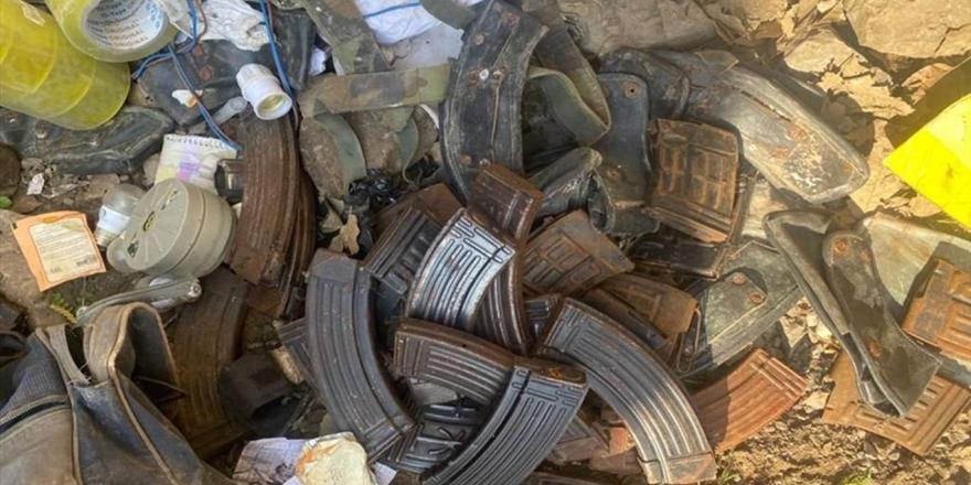 Irak'taki Operasyonda Çok Sayıda Mühimmat Ele Geçirildi