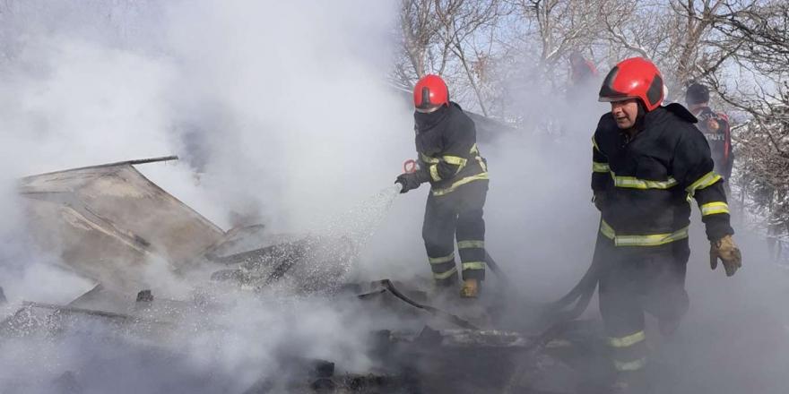 Kilitli Parke Tesisinin Çatısında Çıkan Yangın Güçlükle Söndürüldü