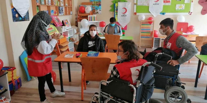 kızılay Siirt Şubesi Engelliler İçin Özel Eğitim Sınıfı Açtı