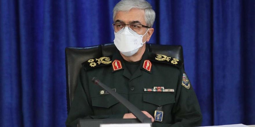 İran Genelkurmay Başkanından Türkiye'ye Taziye Mesajı