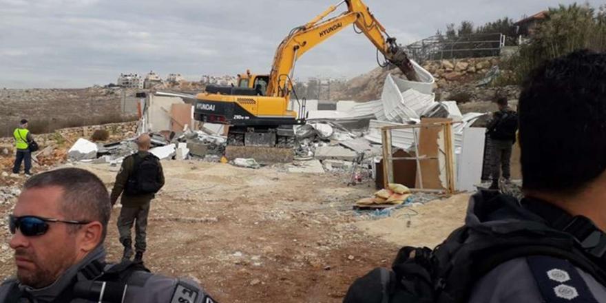 Siyonistler Şubat Ayında Kudüs'te 100 Filistinliyi Alıkoydu 16 Ev Ve İşyerini Yıktı