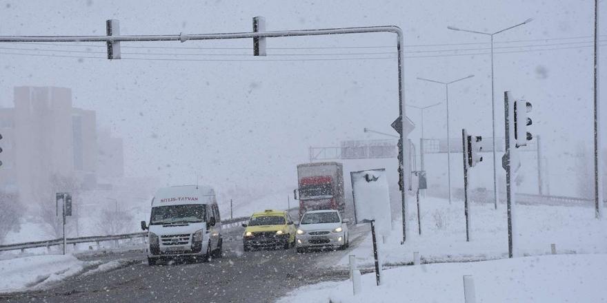 Bitlis Ve Muş İçin Kar Yağışı Uyarısı