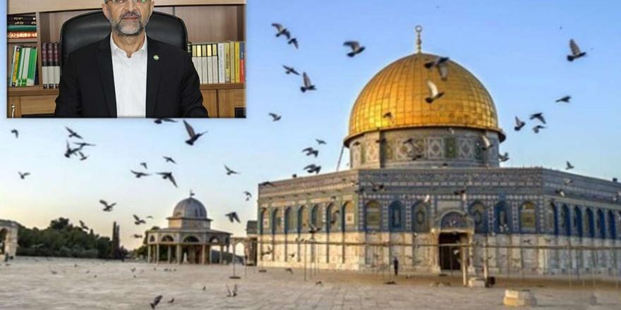 """Hüda Par Genel Başkan Sağlam'dan """"dünya Kudüs Haftası"""" Açıklaması"""