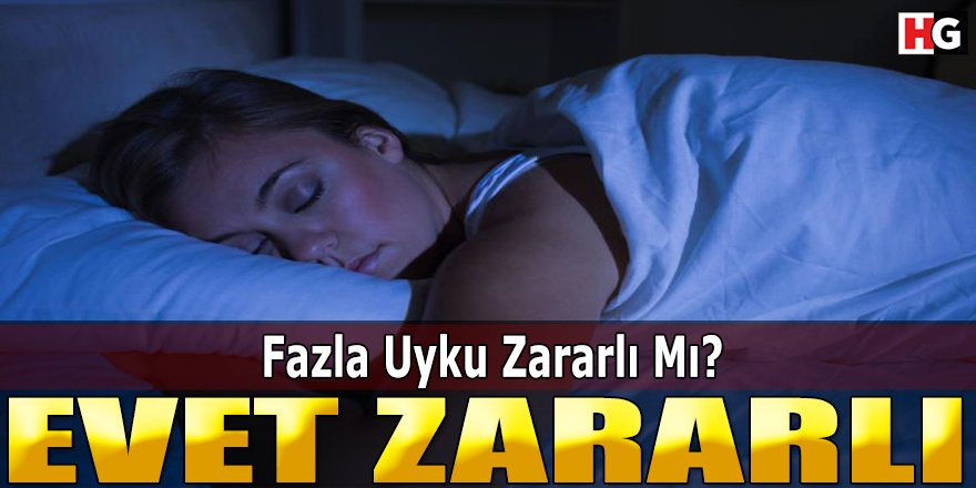 Fazla Uyku Zararlı Mı? Fazla Uyumanın Zararları Nelerdir?