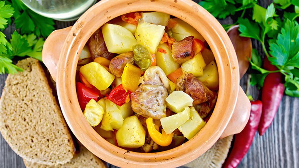Nefis Bol Sebzeli Tavuk Güveç Tarifi. Tavuk yemekleri tarifi