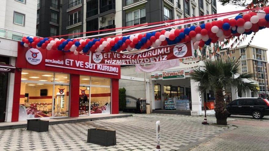 Et ve Süt Kurumu İstanbul'da İlk Mağazasını Açtı